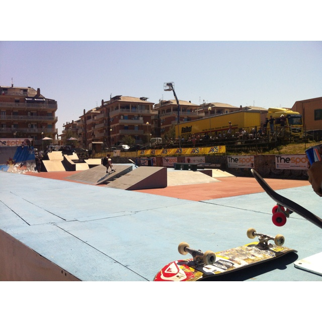 The Spot - Ostia WCS World Cup Skateboarding 2012