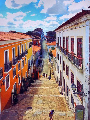 Centro Histórico de São Luís do Maranhão, Brasil.