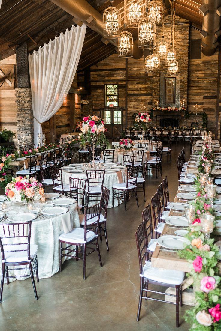 Big Sky Barn Reception Wedding