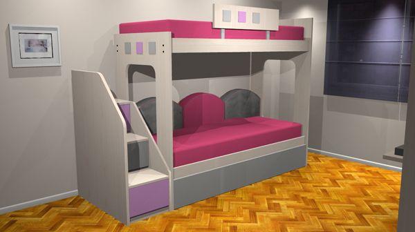 Camas marineras deco pinterest - Habitaciones infantiles marineras ...