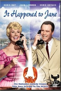 "2/17/14 5:38p    Columbia   Pictures ''It Happened To Jane""  Doris Day Jack Lemmon Released: 6/1959.Her 24th Film"