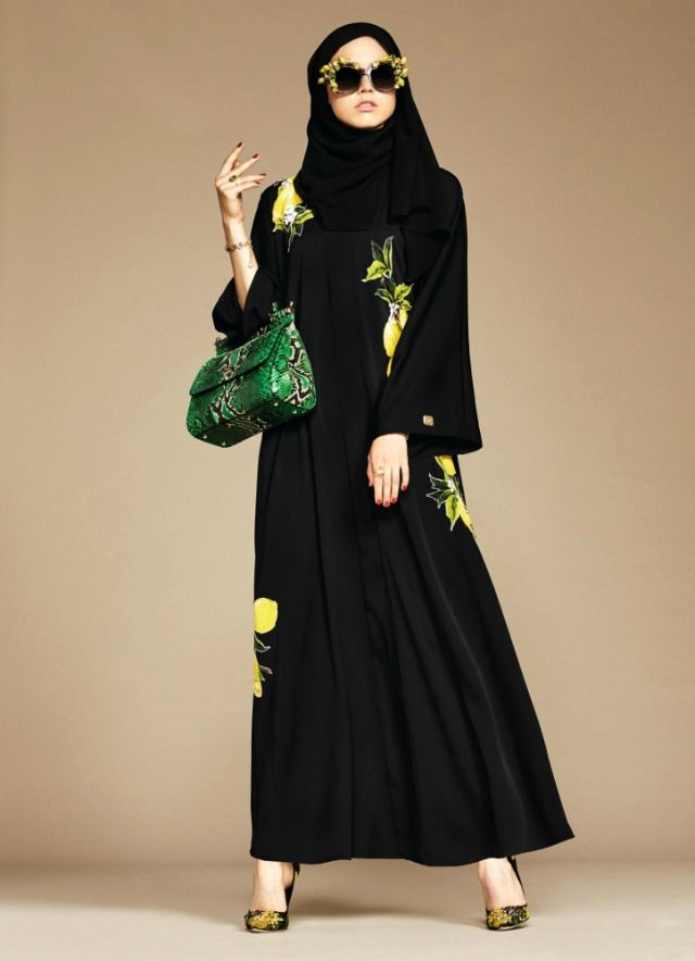 D&G's debut hijab and abaya line is here and it's beautiful