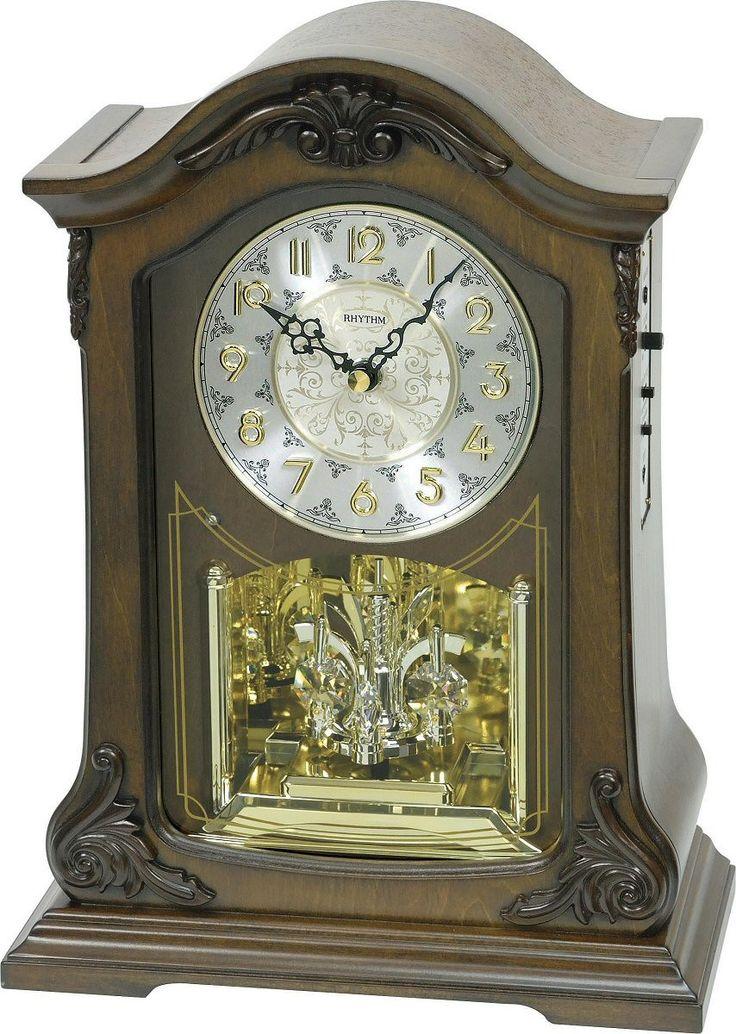 0-000701>American Pride Musical Clock Alder