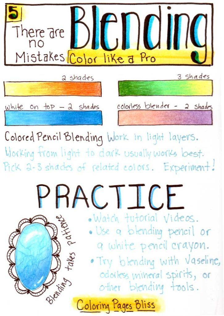color like a pro blending - Color The Picture