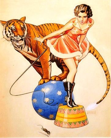 1/14/17 . . . after 146 years of entertaining, Ringling Bros. Circus will come to end (Revere Wistehuff, 1900-1971)
