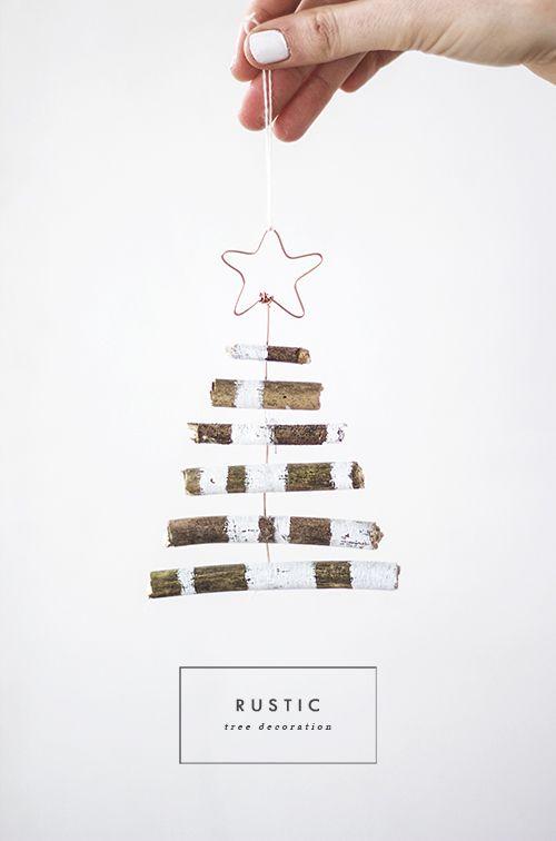 DIY tree decoration 1