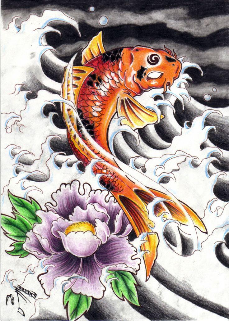 Best 25 Dragon Koi Fish Ideas On Pinterest Koi Dragon