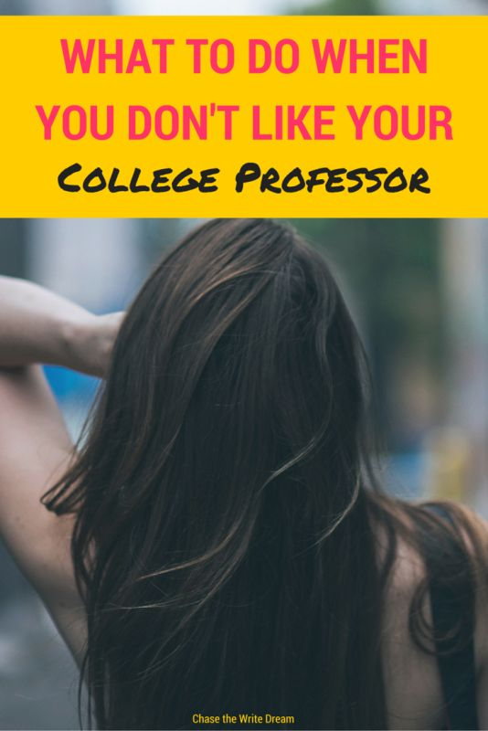 What to Do When You Don't Like Your College Professor | Being a good college student means dealing with difficult classes, and sometimes tough professors. Here are my tips for making sure you maintain your sanity while also getting good grades in your college classes.