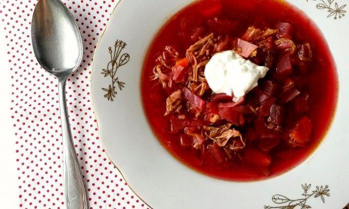 Boršč - luxusní polévka z červené řepy