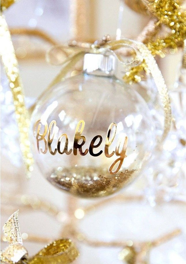 Spread some holiday cheer with personalized ornaments!