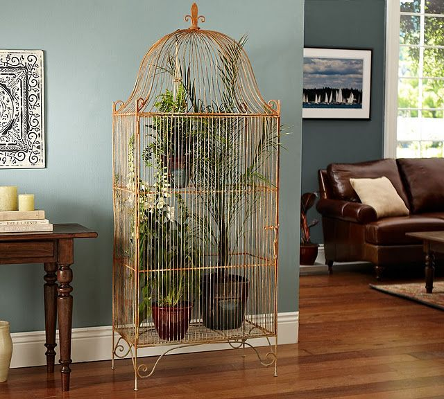 Factory Paint Decorating Color Filled Nurseries: 17 Best Images About Bird Cages On Pinterest