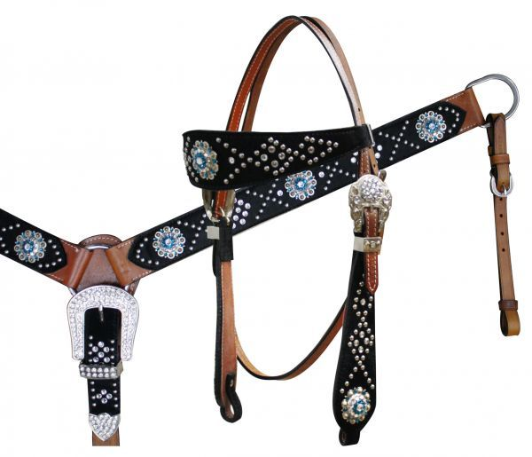 nylon headstalls and breast collars assail