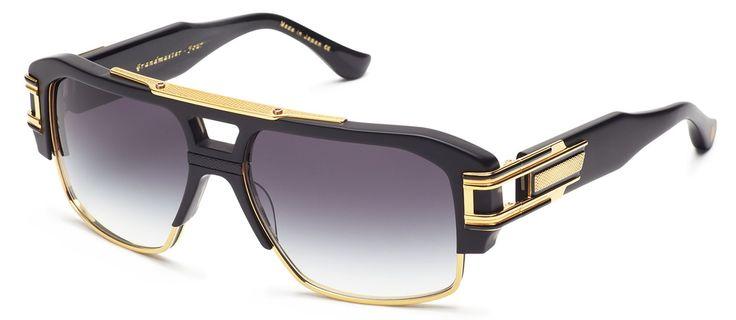 So in love. . #grandmasterfour #ditaeyewear Black/Gold Front