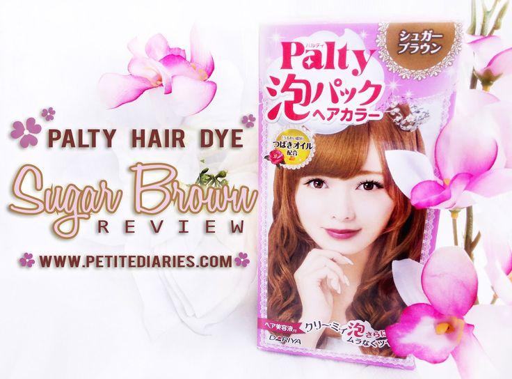 review palty hair bubble sugar brown japan : http://www.petitediaries.com/2016/09/review-dariya-palty-sugar-brown-bubble.html  #haircolor #japanesehairdye #japan #beautyblogger