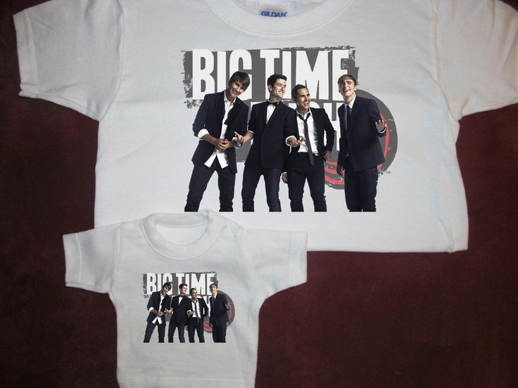"Big Time Rush T-shirt with Matching Shirt For American Doll Teddy Bear Fits 18"" #toddler #shirts #americandoll #dolls #dollclothes #bigtimerush #kids #gifts"