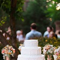 Cakes, Real Weddings, Wedding Style, white, Garden Wedding Cakes, Southern Real Weddings, Summer Weddings, Garden Real Weddings, Summer Real Weddings, Garden Weddings, Pastel