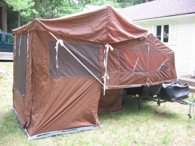Vintage Trailers Imagaes Trailer Camper Tent Breaking