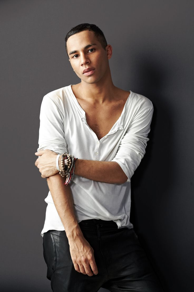 Olivier Rousteing, designer of French house Balmain= one of my new favorite fashion inspirations!
