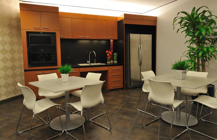Company break room ideas breakroom after a little bit for Office lunch room design ideas