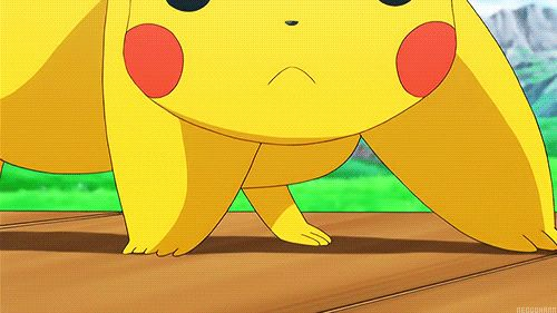 Pokemon ~~ Pikachu kisses you! OH MY GOSH. THAT'S SO FREAKING CUTE. my nickname is pikachu :3