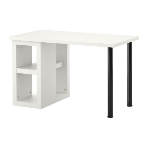 vika amon vika annefors table white black the price reflects selected options ikea deskikea