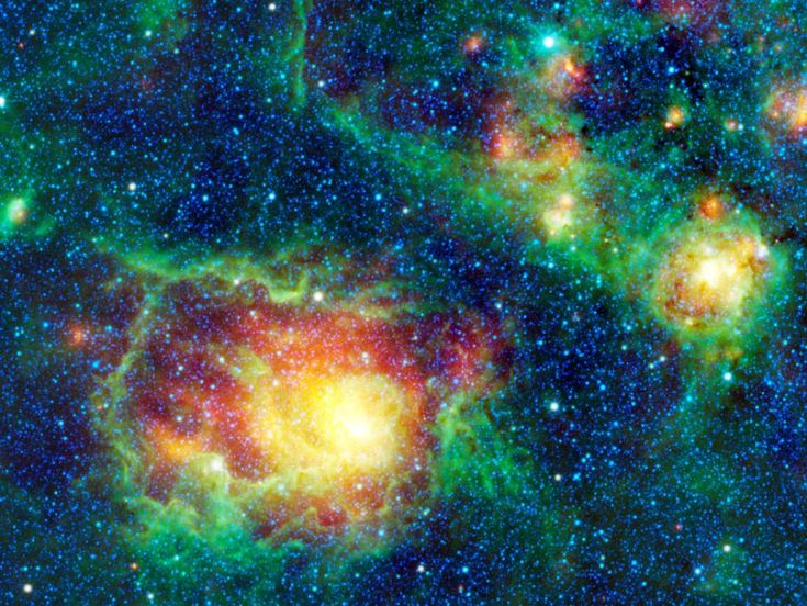 Has Tyche Been Found? Planet X Ejected From Another Solar System, Giant Planet 4X Larger Than Jupiter In Oort Cloud Sought By Astronomers    This colorful picture is a mosaic of the Lagoon nebula taken by NASA's Wide-field Infrared Survey Explorer, or WISE.