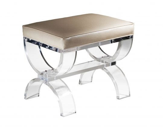 Umbria Bench Our Acrylic Seating Pinterest Home Acrylics And Leather