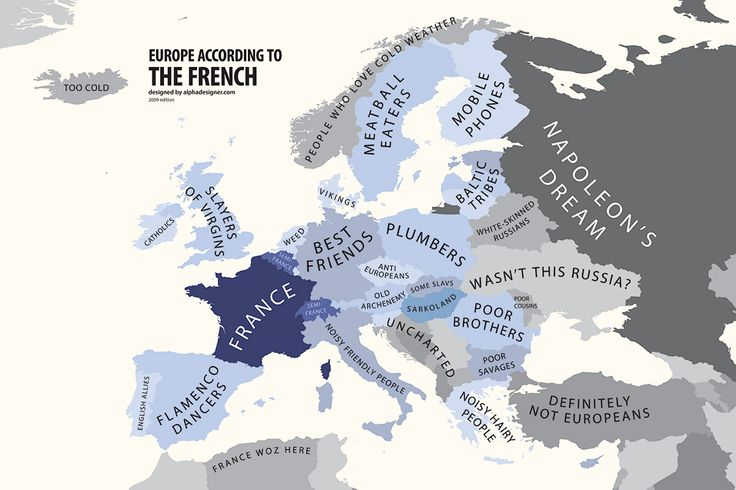 Europe according to the French
