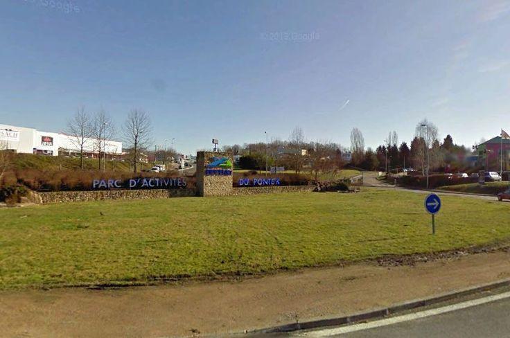 Rond point de Plaisance a Limoges (87)
