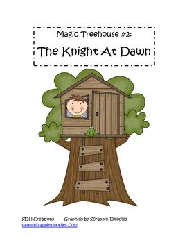 Magic Treehouse Comprehension activities- great for First Grade level!