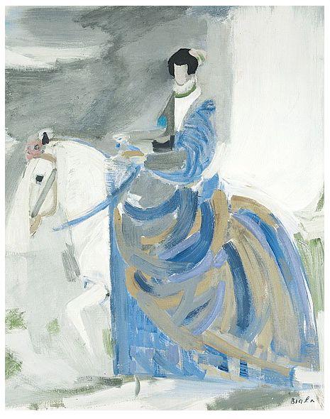 Janice Biala, Riding Figure