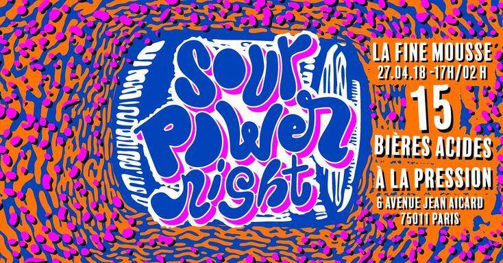 Paris Food & Drink Events: Sour Power Night