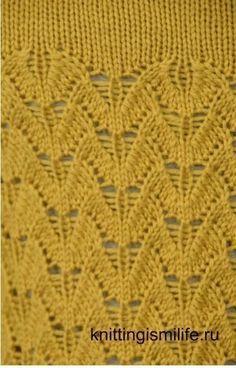 Мобильный LiveInternet Красивый узор для женского вязания | НадеждаМ - Дневник НадеждаМ |