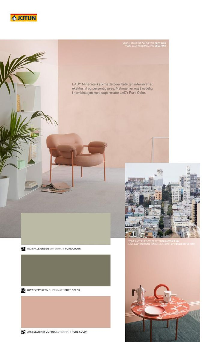 LADY Home Living - Se de nye vakre fargene fra LADY i de tre temaene; Nordic Living, Urban Living og Continental Living