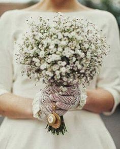 White soaproot bouquet (fátyolvirág csokor)