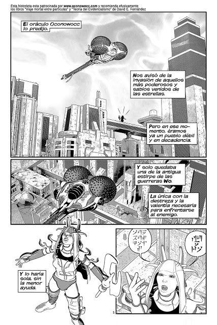 Fanzipote, el fanzine mas potente: Oconowocc By Rafa Infantes