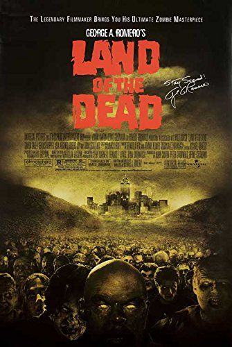 Land of the Dead 2005 Original USA One Sheet Movie Poster George A. Romero Simon Baker @ niftywarehouse.com #NiftyWarehouse #Zombie #Horror #Zombies #Halloween