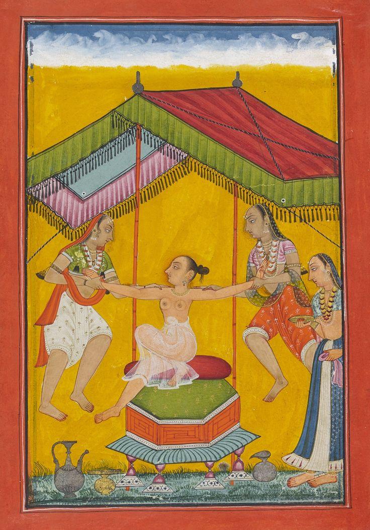 Tailingi (Telangi) Ragini, Wife of Hindola Bilaspur or Chamba, c. 1700