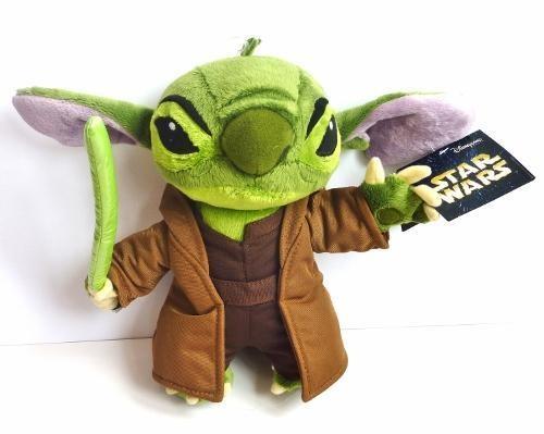 61f02453772 Star Wars Stitch Yoda Plush Disney Theme Park Exclusive 9