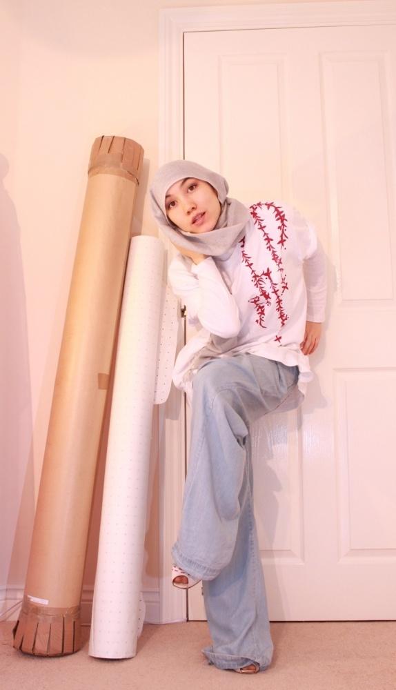 hijab t-shirt modest style
