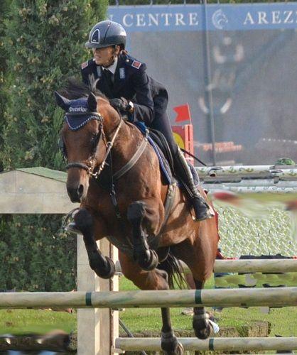 Unamazzone abruzzese Velia Angelini agli europei di salto ostacoli