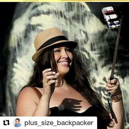 Amazing concept  #Repost @plus_size_backpacker (@get_repost)  SELFIE STICKS... tragedy or gadget of the decade? Why?   #selfie #selfiestick #instapoll #whatdoyouthink #travelquestion #friendorfoe #opinionplease #plus_model #plussizeblogger #curvyblogger #curvyfashion #curvydivachic #curvytravels