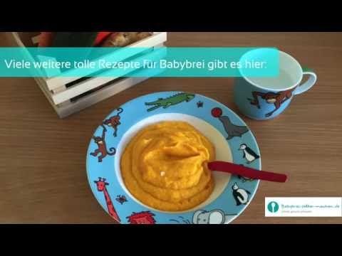 Babybrei selber machen: Mittagsbrei mit Fleisch für Babys ab dem 5.Monat - YouTube