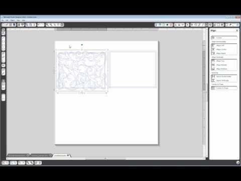 Tutorial:  Use Modify Tools in Silhouette Studio to Make a Flourish Frame