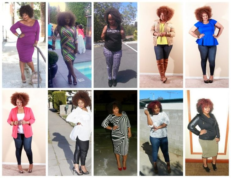 Posing - Plus size blogger Marie Denee