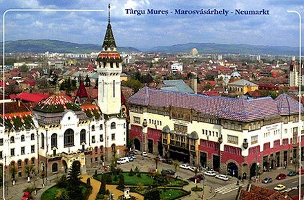 Targu Mures, Romania. 1/2 of my heart will always be here...