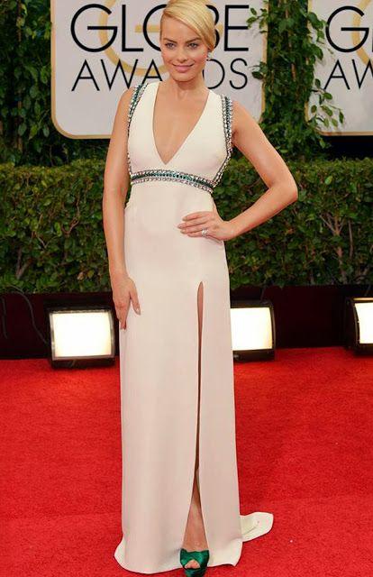 Best Dressed Golden Globes 2014 | Margot Robbie