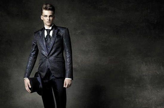 Lo sposo 2015: classico, dandy o rock star? - abito Pignatelli 2015
