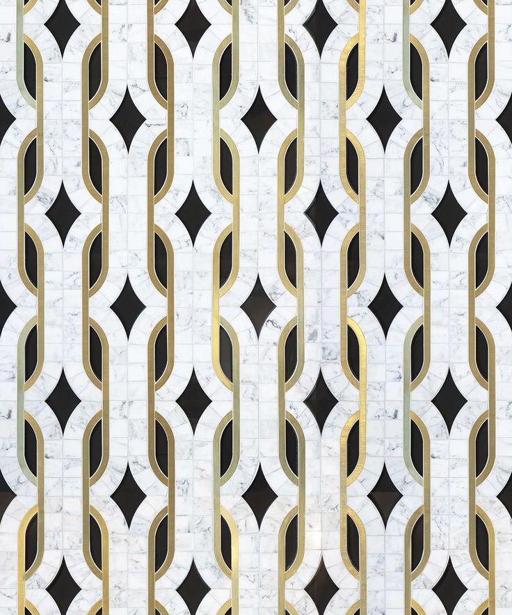 298 best images about texture on pinterest ceramics for Art deco carrelage