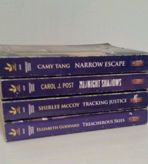 4 Love Inspired Suspense Harlequin Romance True Large Print McCoy Tang